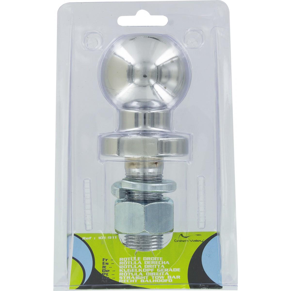 Remorquage rotule droite Flauraud - Diamètre boule 50 mm