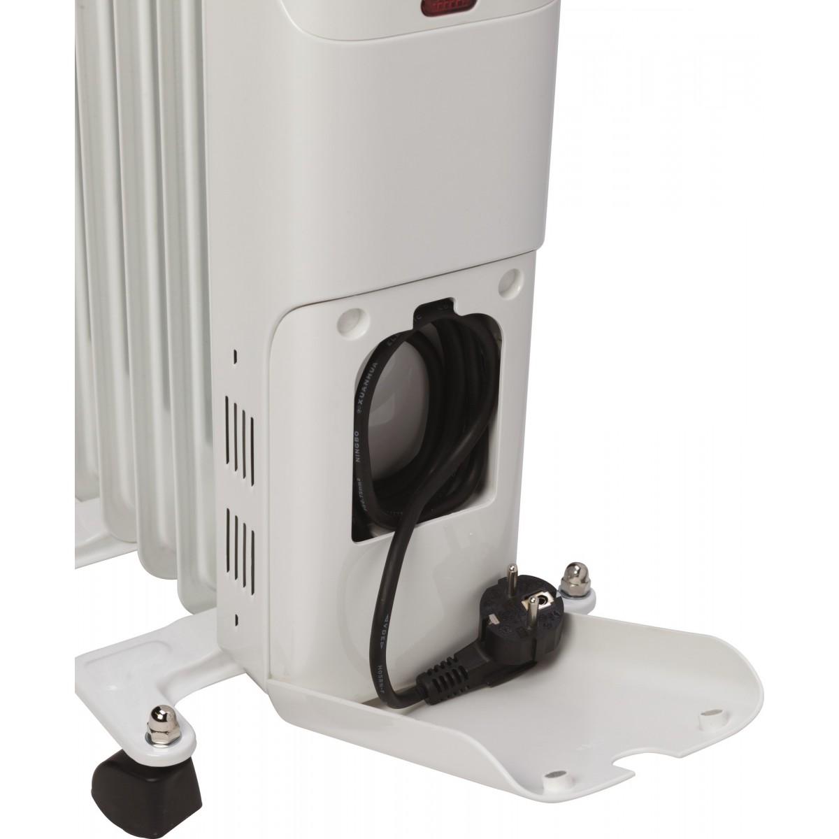 Radiateur bain d'huile Ingarø Varma - 2000 W - Blanc