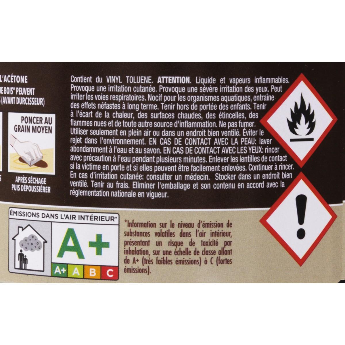 Sintobois mastic à bois avec durcisseur Sinto - Boîte 500 ml / 550 g - Sapin