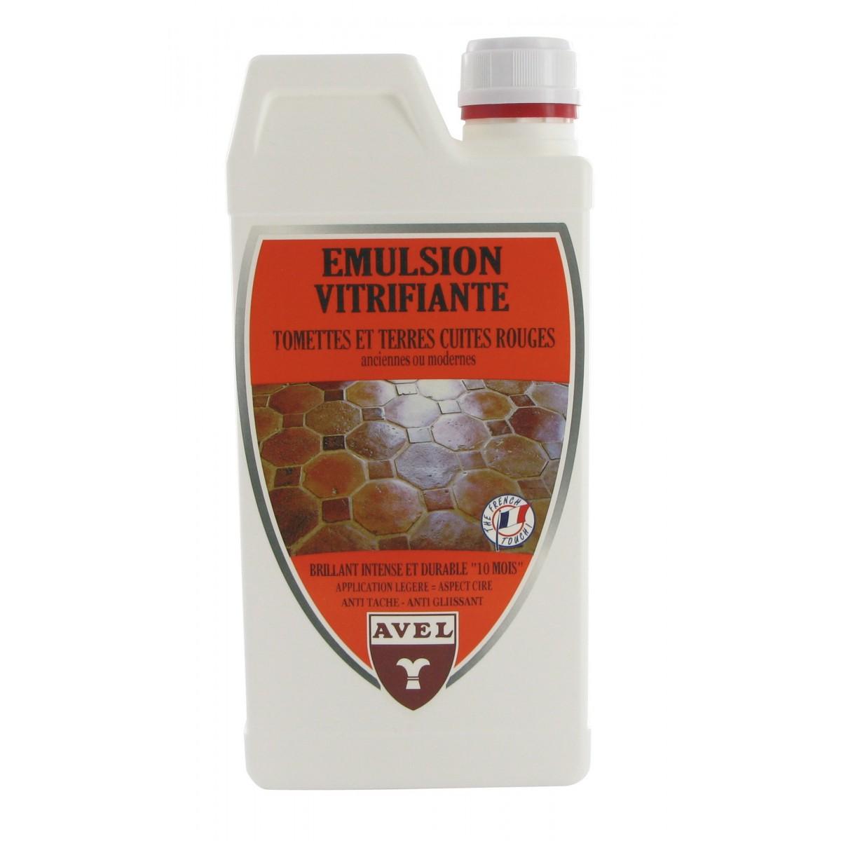 Emulsion vitrifiante tomette Avel - Bidon 1 l