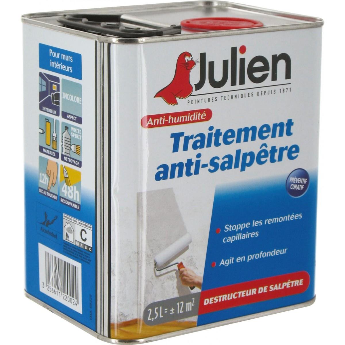 traitement anti salp tre julien bidon 2 5 l de traitement anti salp tre. Black Bedroom Furniture Sets. Home Design Ideas