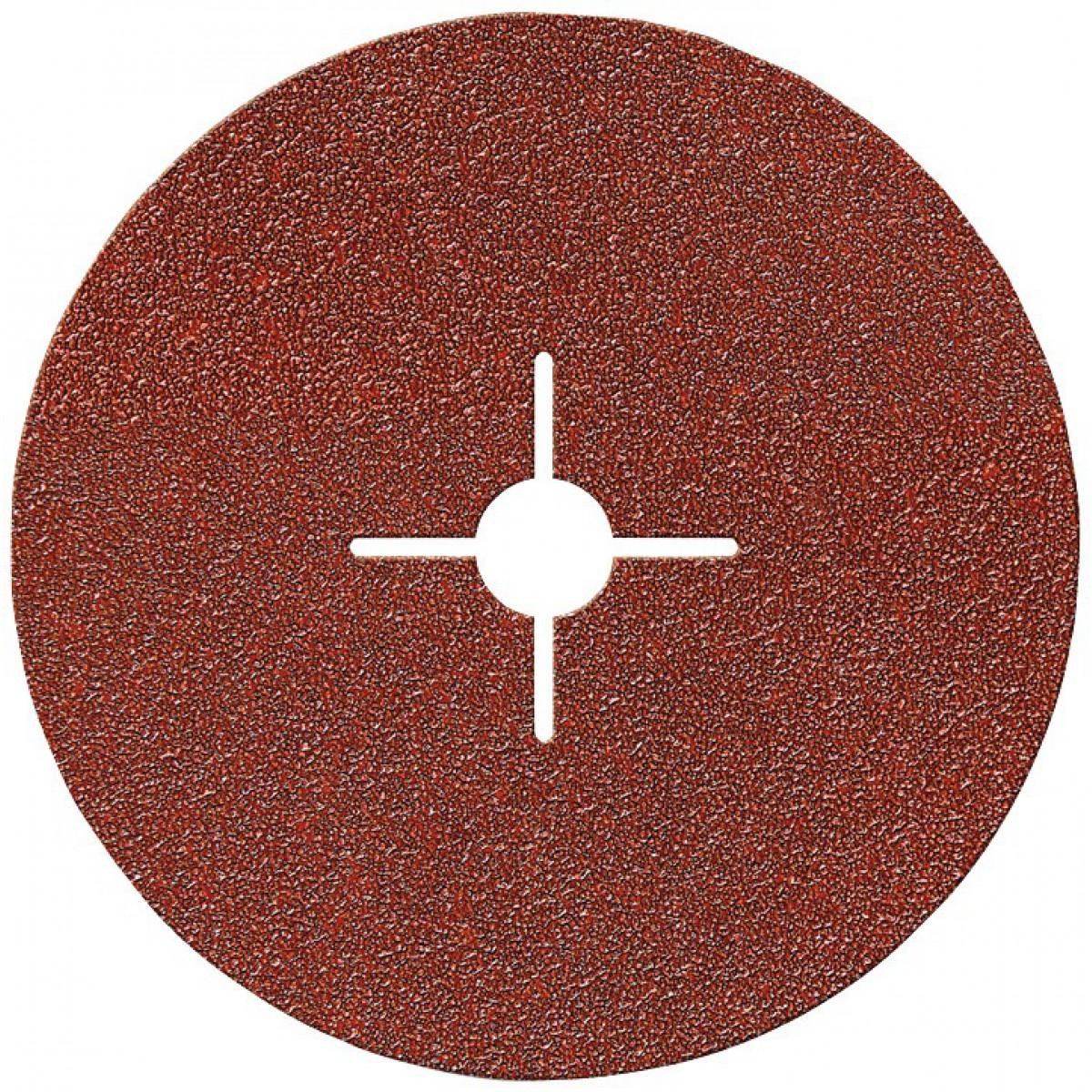 Disque alésage étoilé diamètre 12 mm SCID - Grain 40 - Diamètre 125 mm - Vendu par 5