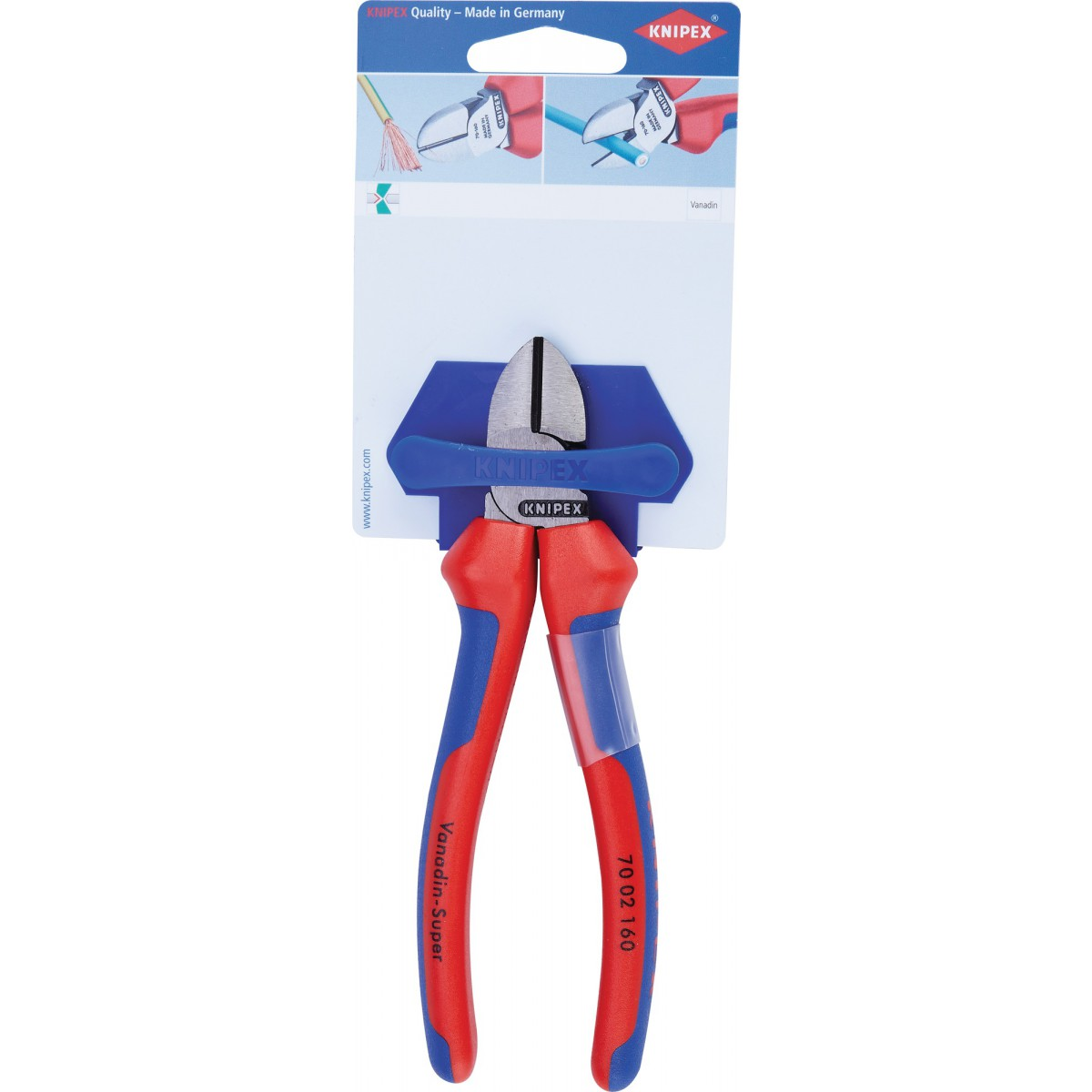 Pinces coupante diagonale Knipex - Longueur 160 mm