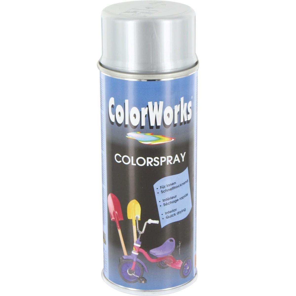 Peinture brillante Colorworks - Aluminium métal