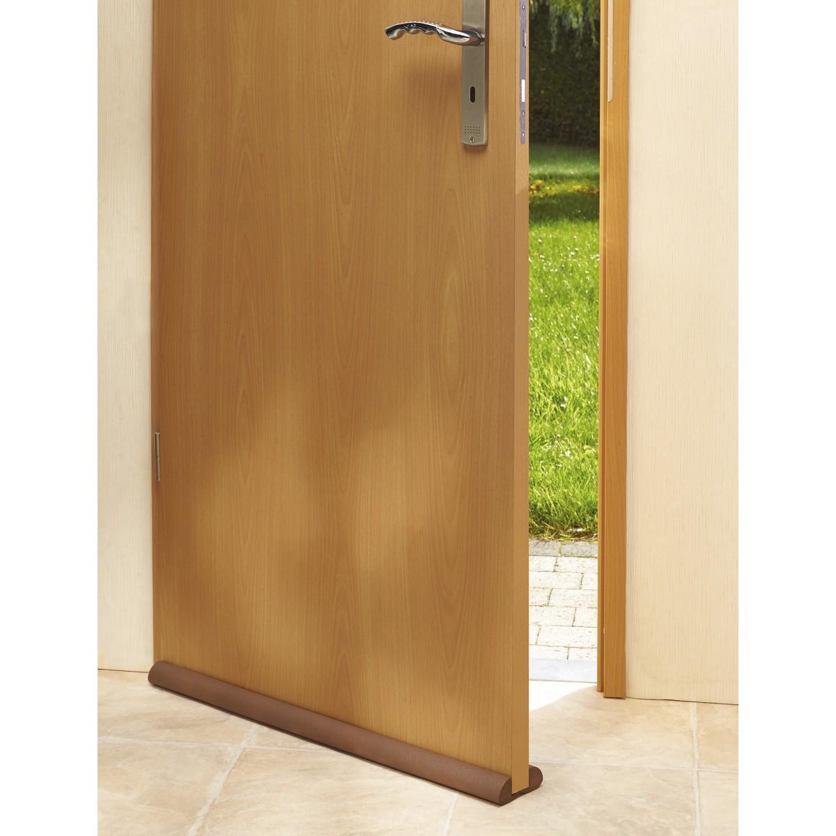 Boudin de porte Mottez - Marron - Longueur 93 cm