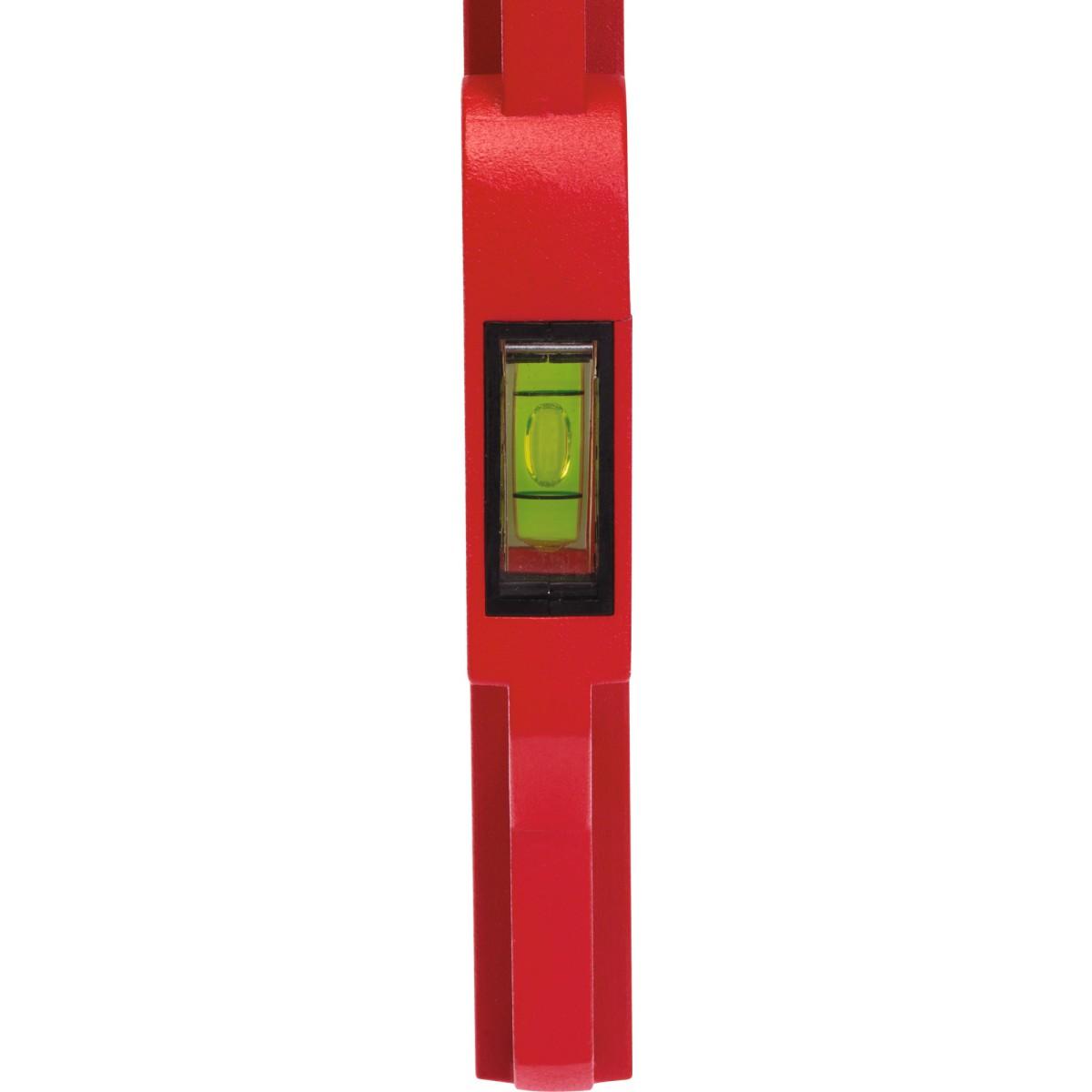 Niveau trapèze aimanté bi-matière Outibat - Longueur 50 cm