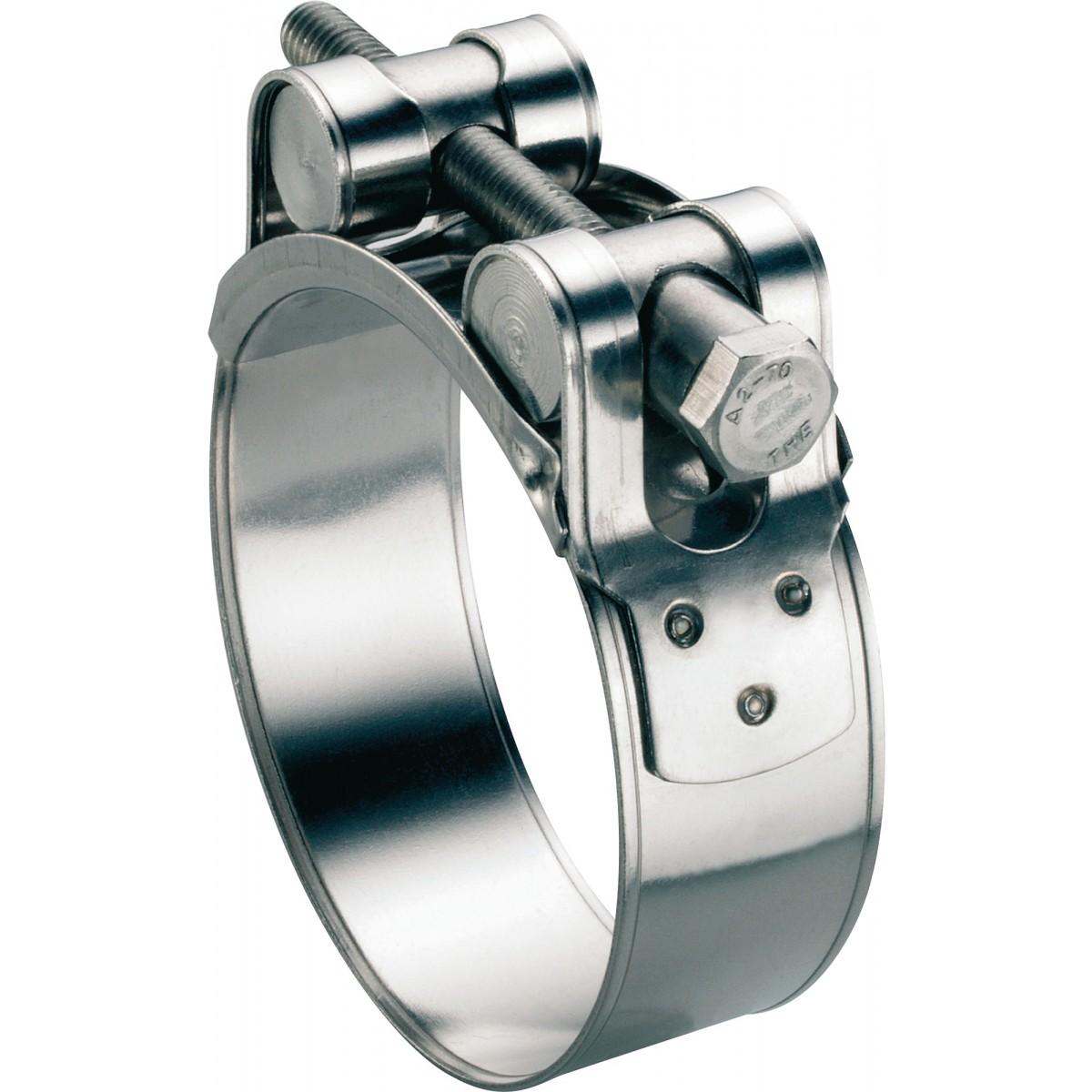 Collier à tourillons inox W4 Ace - Diamètre 60 - 63 mm - Vendu par 5