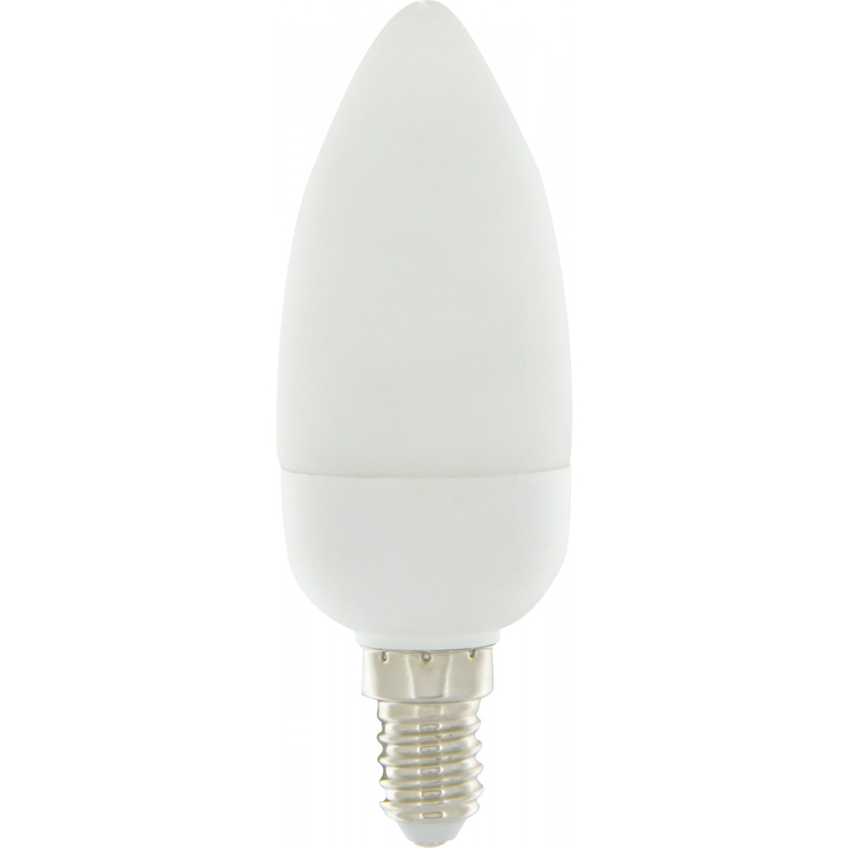 Ampoule fluocompact flamme E14 Dhome - 287 Lumens - 7 W