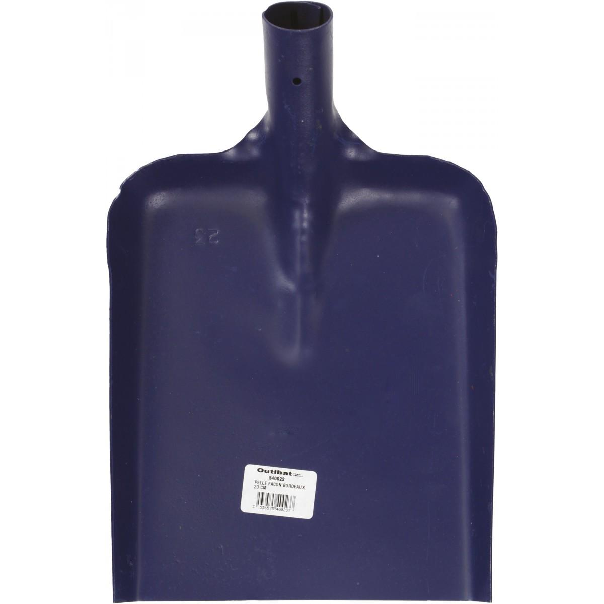 Pelle façon Bordeaux Outibat - Dimensions 21 cm
