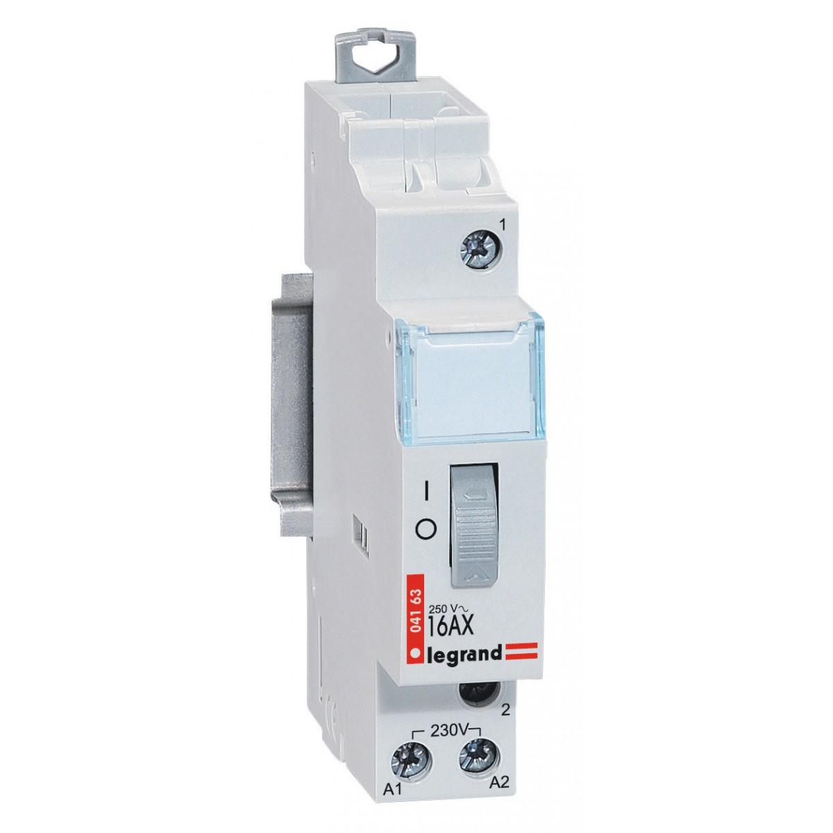 Télérupteur modulaire 16 A Legrand - Unipolaire 230 V