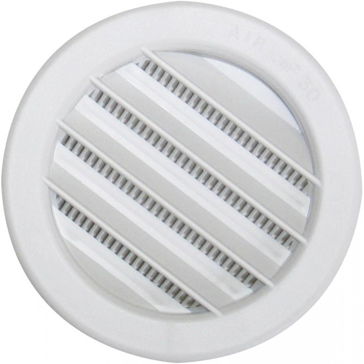 Grille plastique universelle à encastrer DMO - Diamètre 100 mm