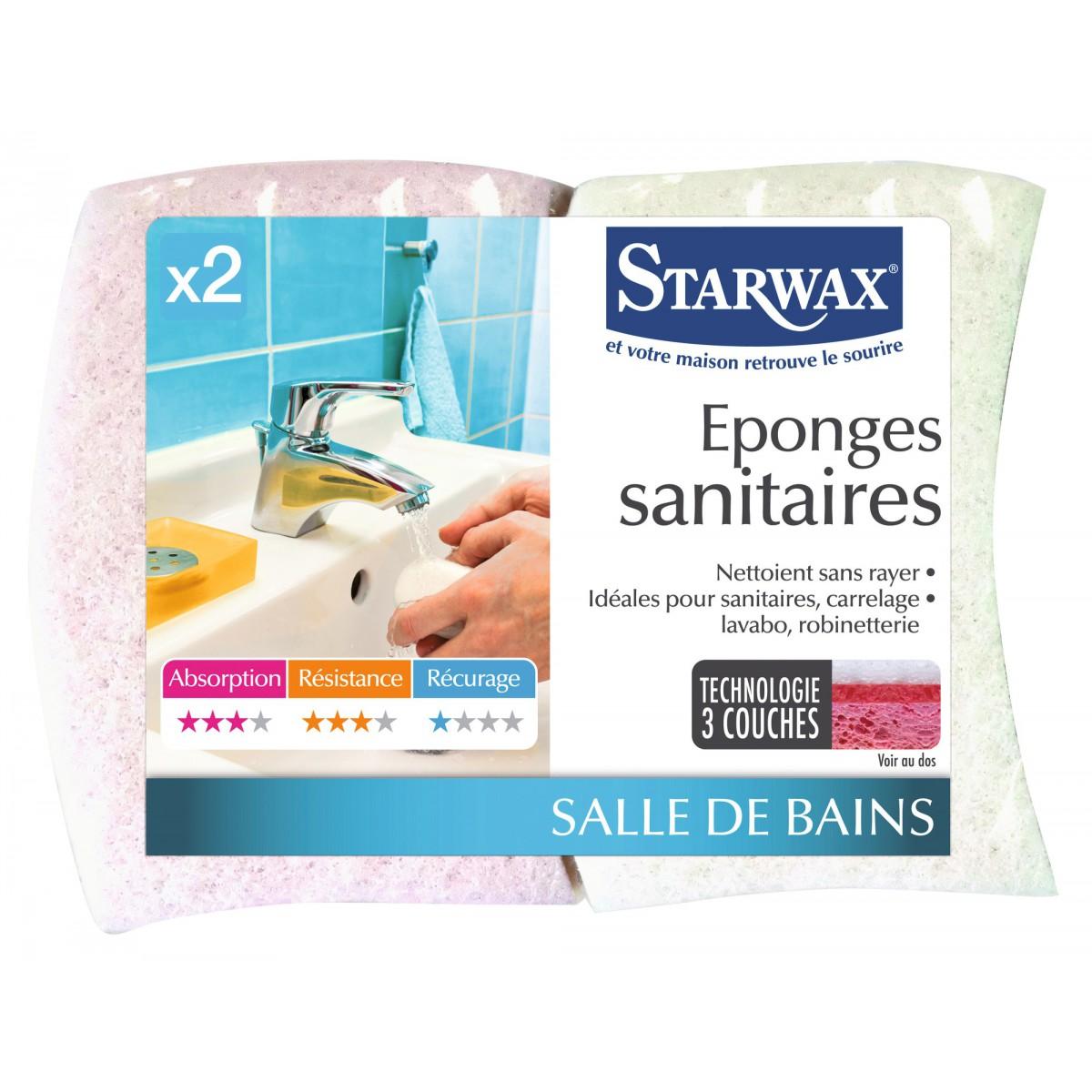 Eponge sanitaire Starwax - Vendu par 2