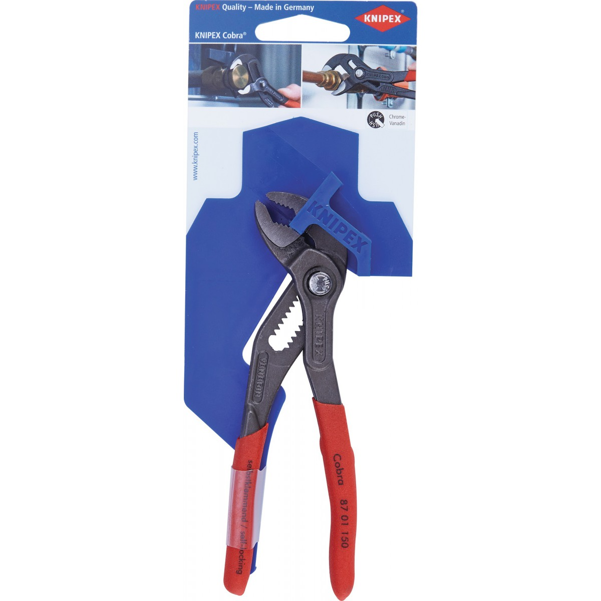 Pince multiprise Cobra Knipex - Dimensions 150 mm