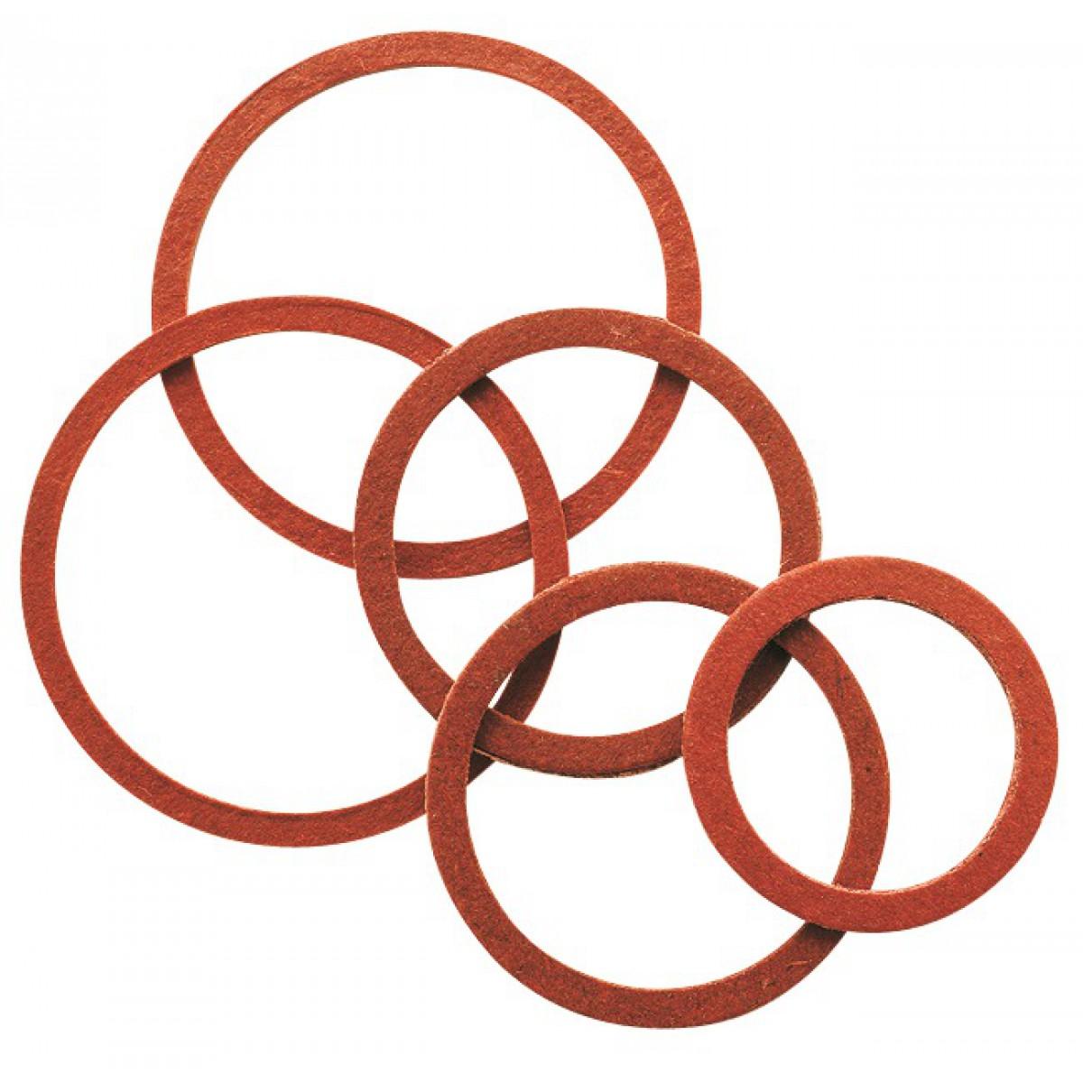 Joint fibre en sachet Gripp - Filetage 26 x 34 mm - Vendu par 15