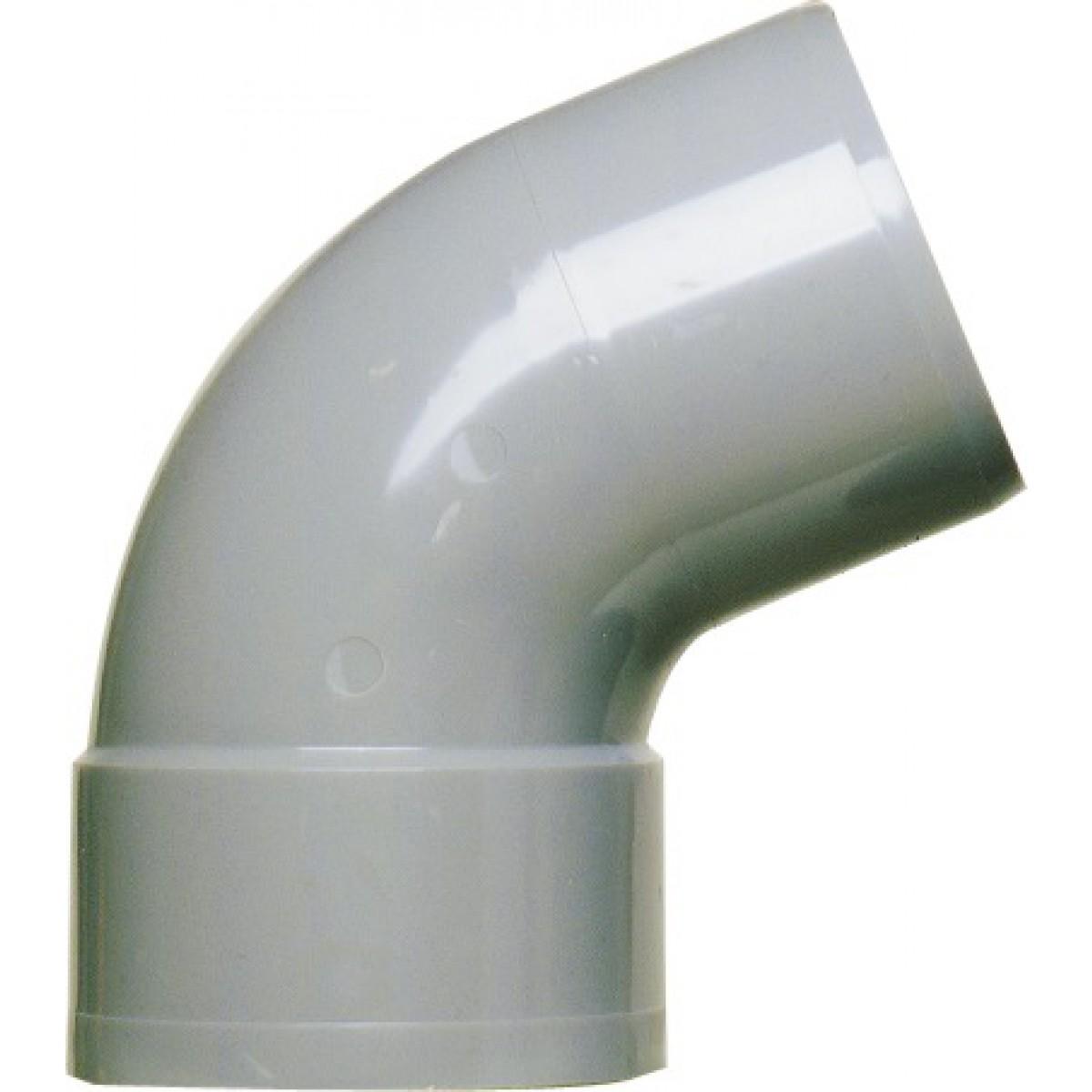 Coude à 67°30 Mâle / Femelle Girpi - Diamètre 50 mm