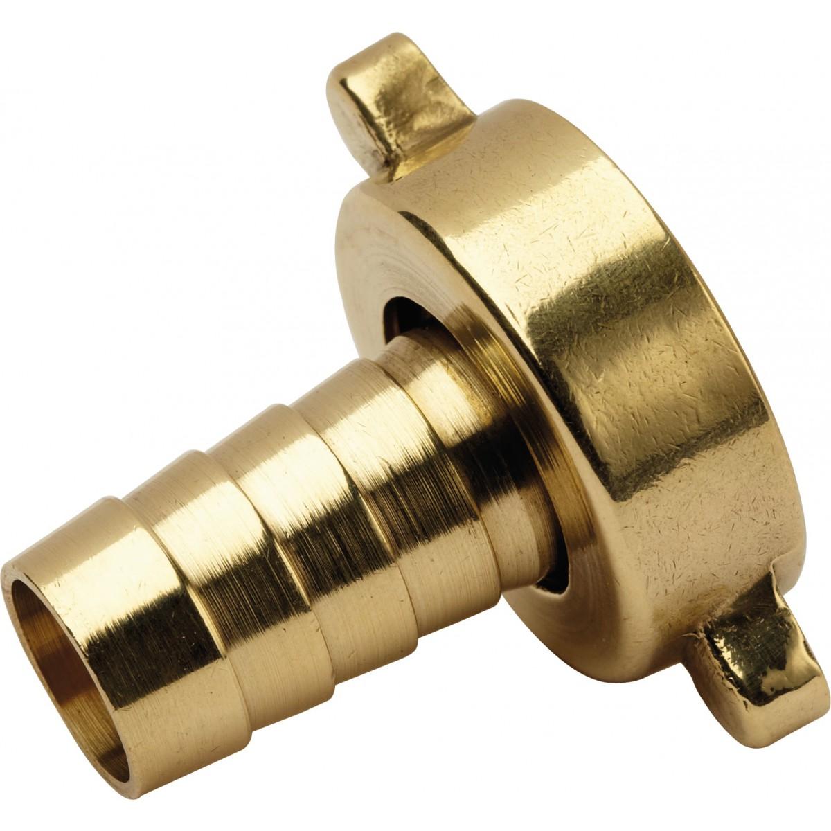 Nez de robinet et collier de serrage Cap Vert - Filetage 20 x 27 mm - Diamètre 15 mm