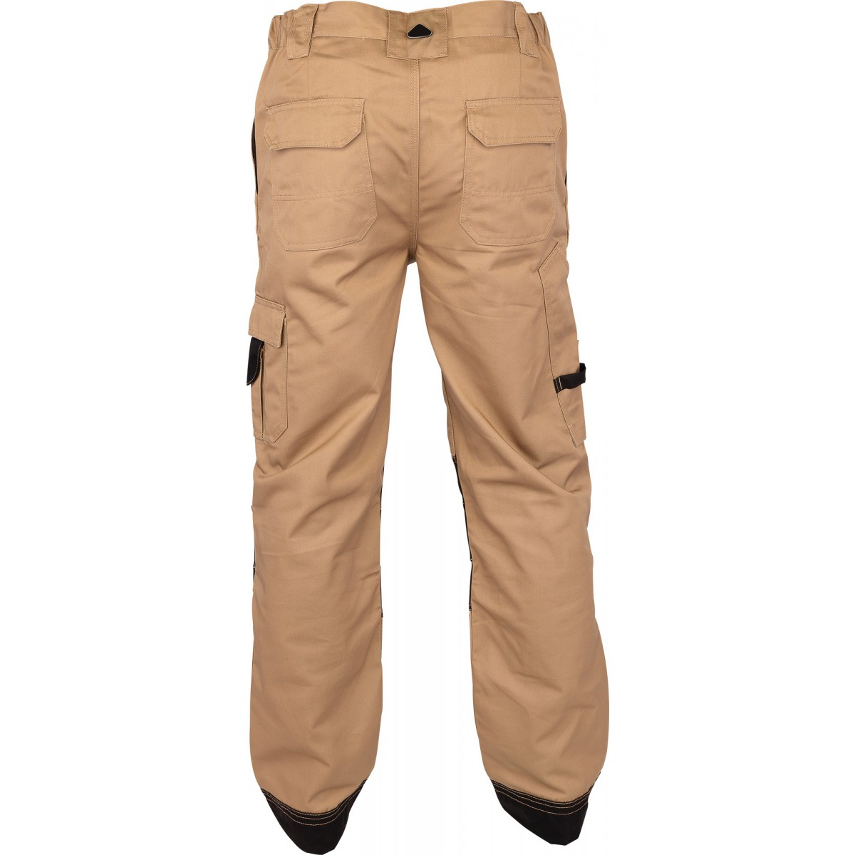 Pantalon de travail genoux et bas de jambes renforcés Outibat - Taille XXL - Camel