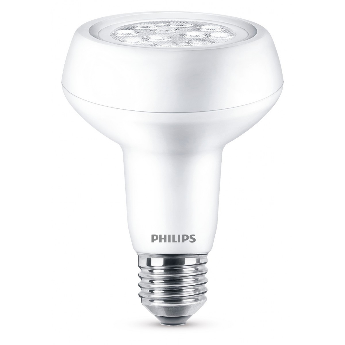 Ampoule LED réflecteur R80 E27 Philips - 360 Lumens - 3,7 W
