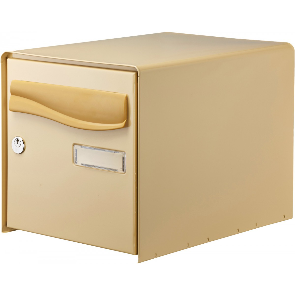 Boîte aux lettres à ouverture totale R-Box Lys Decayeux - Simple face - Beige