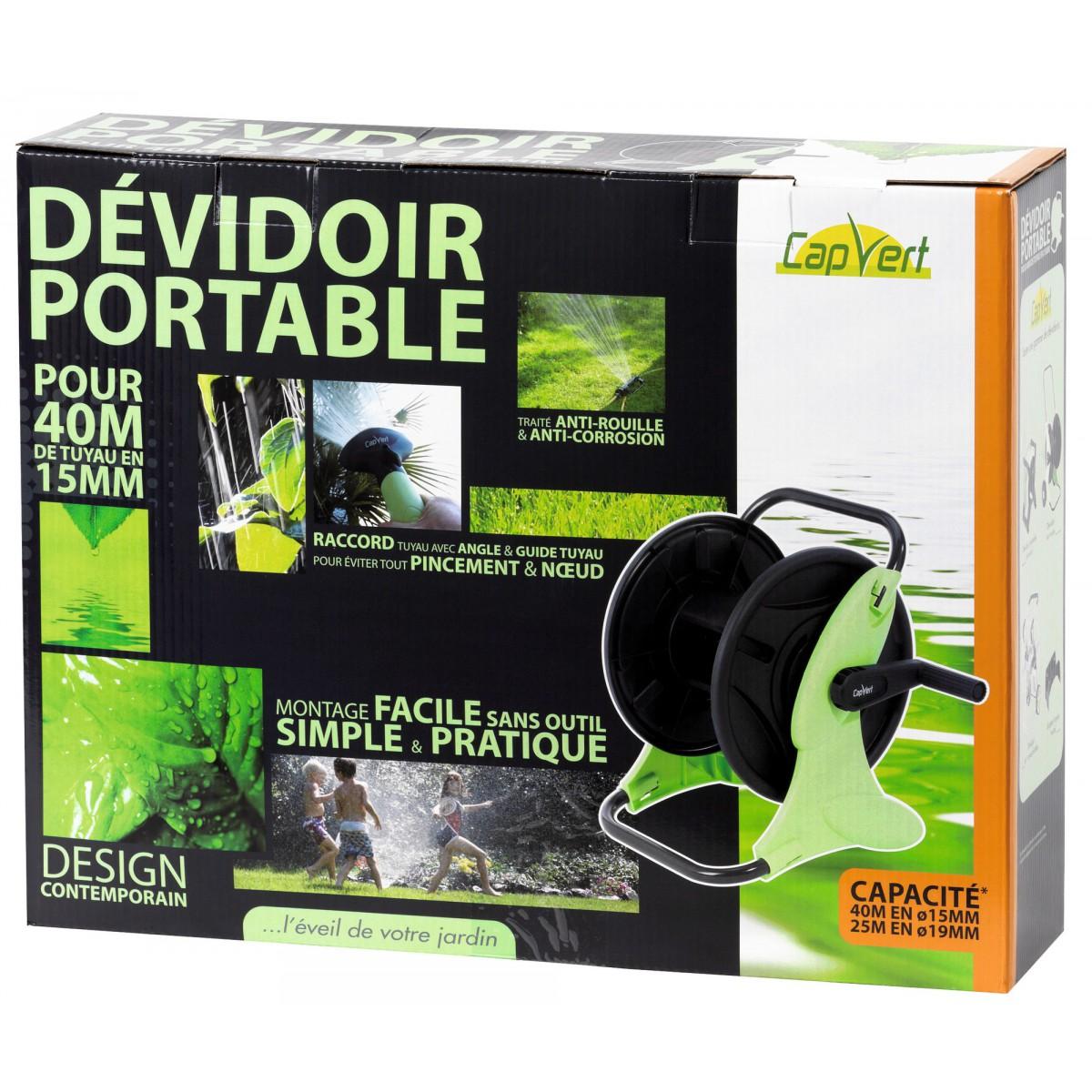 Dévidoir portable Cap Vert