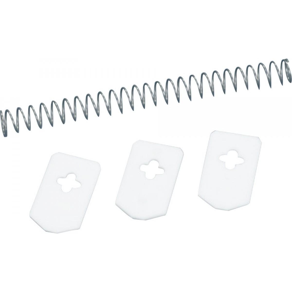 Languette x 3 + ressort x 1 pour dénoyauteur automatique Leifheit