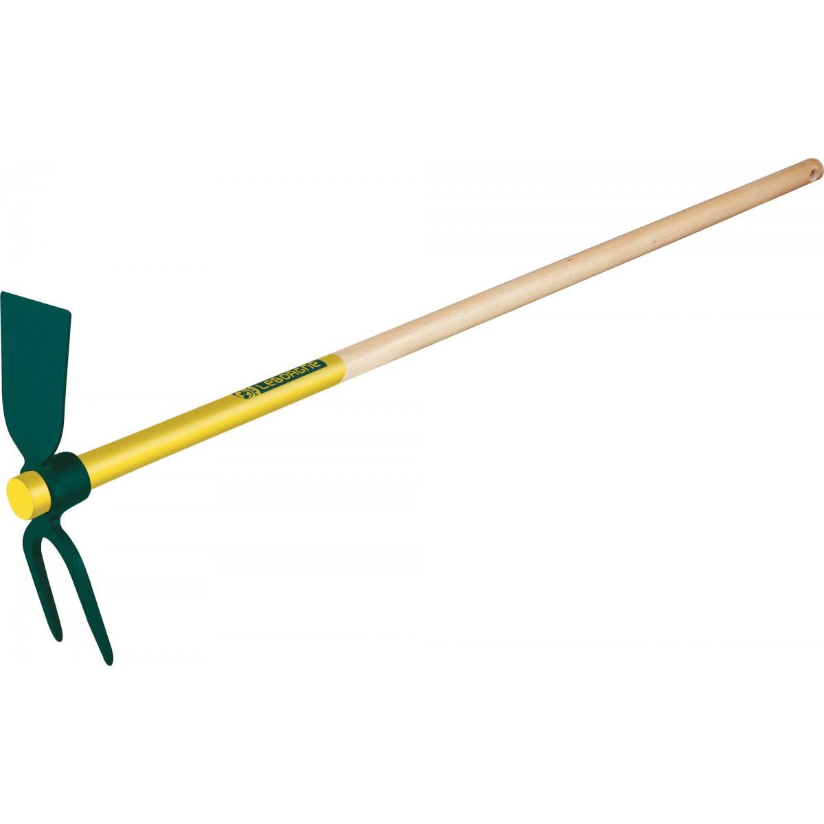 Serfouette panne et fourche Leborgne - Emmanché 1,10 m - Longueur 26 cm