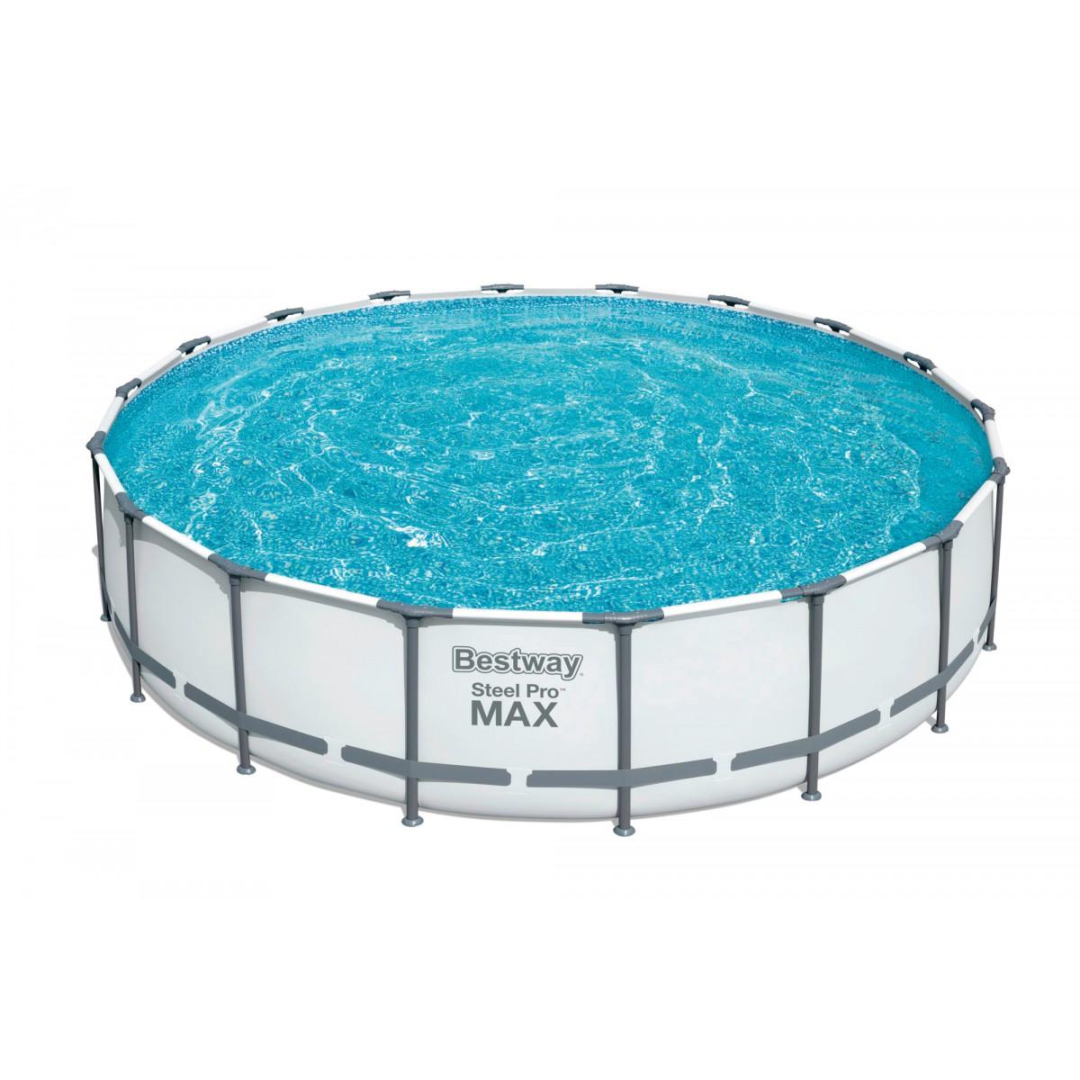 Piscine hors sol ronde Steel Pro Max™ Bestway - 549 x 122 cm