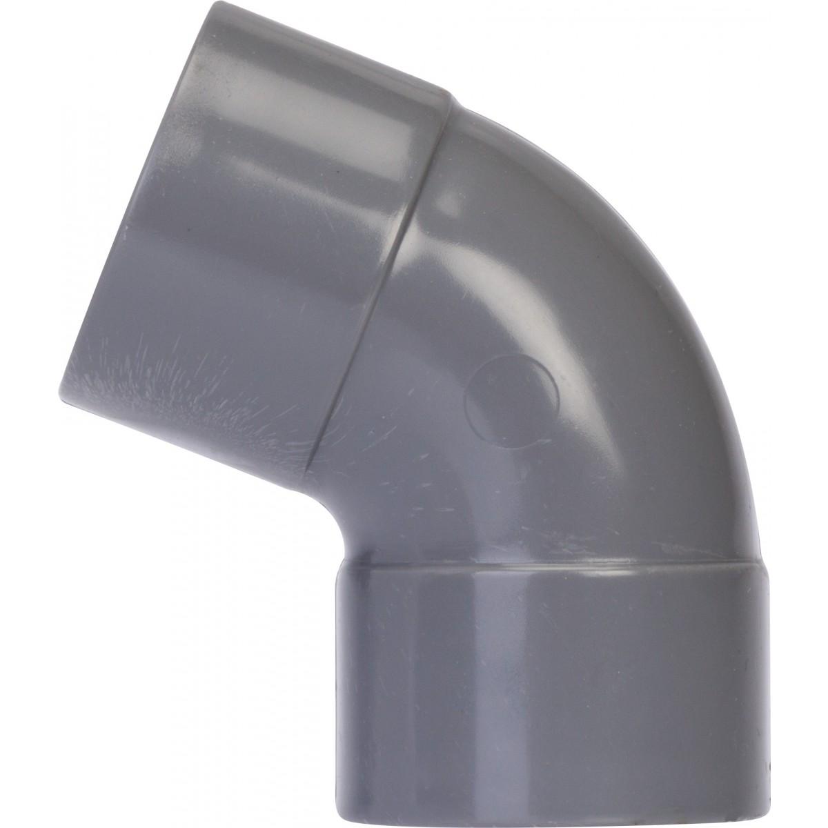 Coude à 67°30 Femelle / Femelle Girpi - Diamètre 80 mm