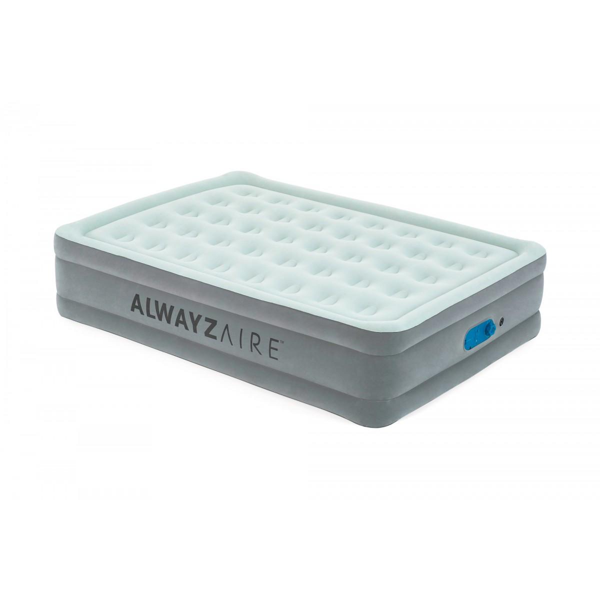 Lit gonflable matelas AlwayzAire Bestway - 2 places  - 203 x 152 x 46 cm