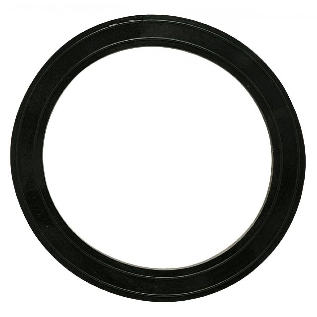Joint de centrage caoutchouc entre cuvette et réservoir Gripp - Diamètre extérieur 110 mm - Intérieur 85 mm