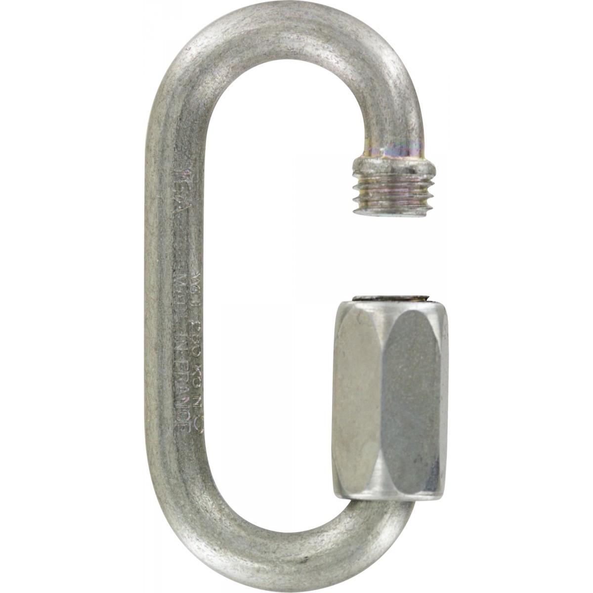 Maille rapide série grande ouverture Chapuis - Longueur 49 mm - Diamètre Fil 5 mm - Vendu par 2