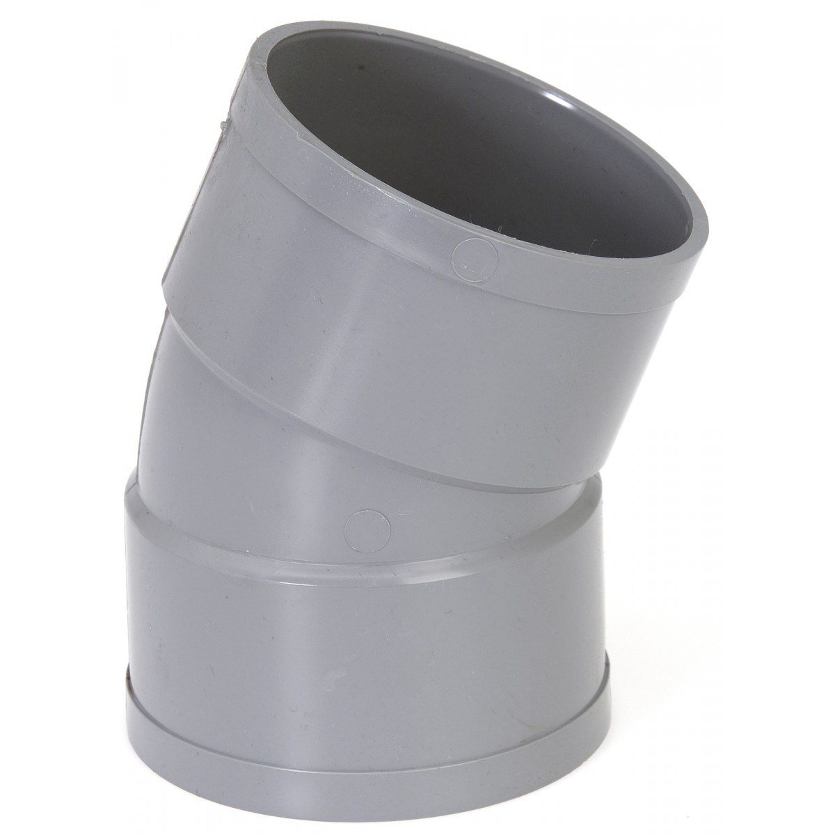 Coude à 22°30 Femelle / Femelle Girpi - Diamètre 80 mm