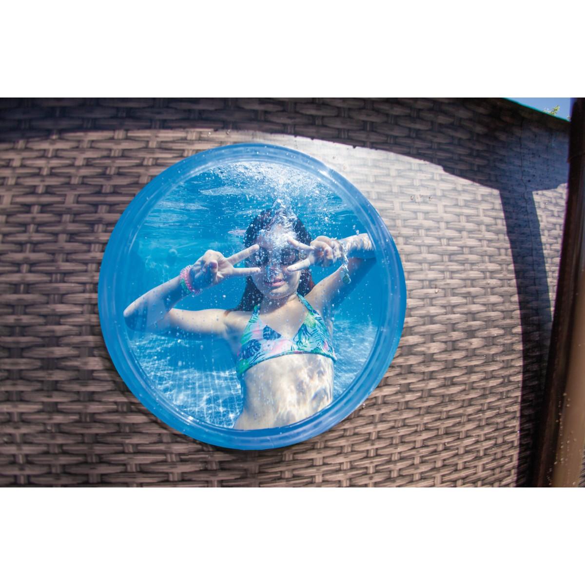 Piscine ronde tubulaire Power Steel Swim Vista Bestway - Ø488 x 122 cm