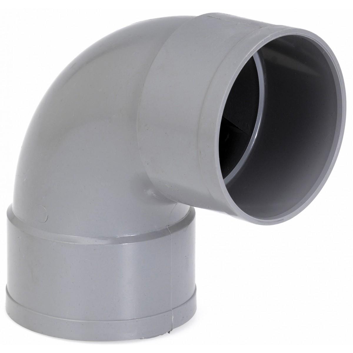Coude à 87°30 Femelle / Femelle Girpi - Diamètre 50 mm