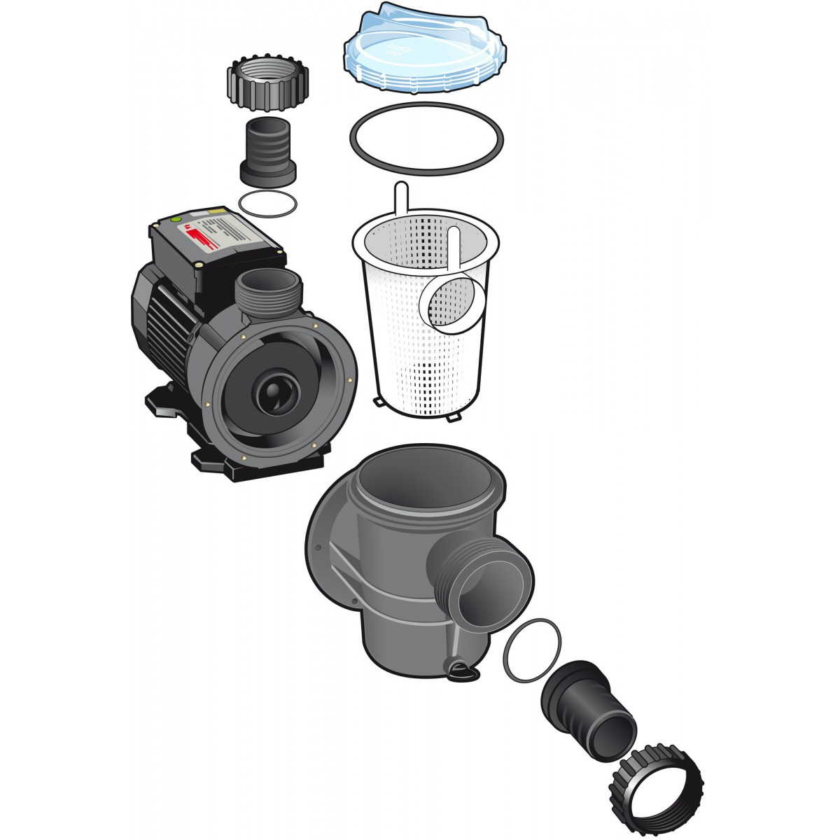 Pompe piscine Poolmax® TP150 Ubbink - 21,6 m³/h