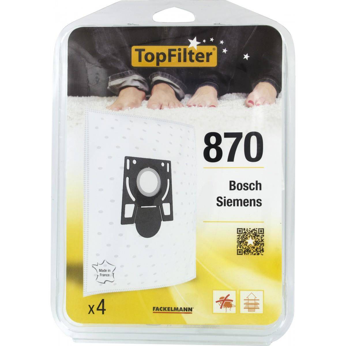 Sac aspirateur domestiques - Siemens Synchropower - 870 - Vendu par 4