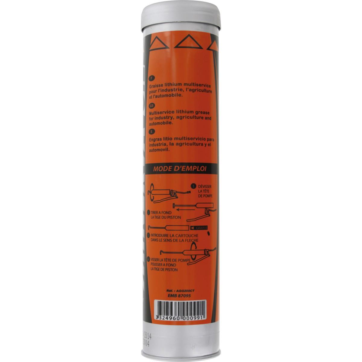 Graisse universelle pour pompe à graisse Minerva - Usages multiples - 400 g