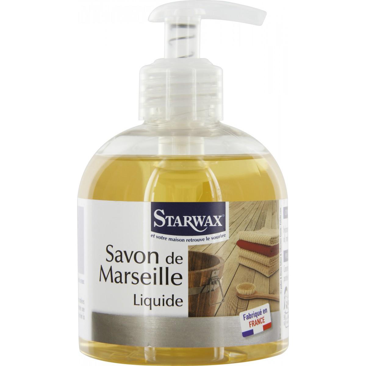 Savon de marseille liquide Starwax - Flacon pompe 300 ml