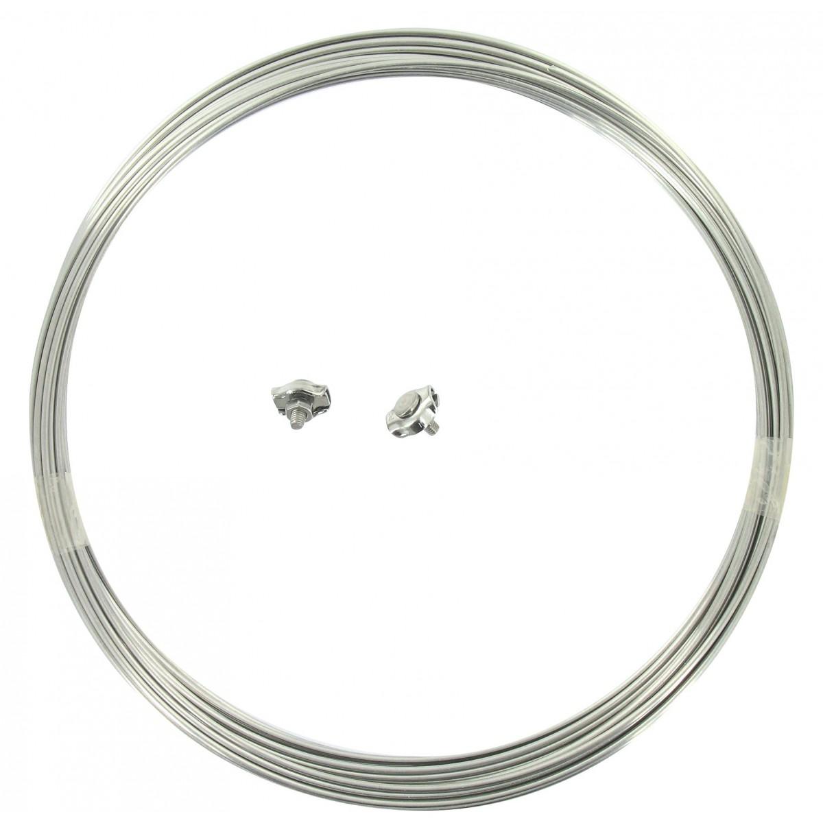 Corde à linge - Acier inox - Diamètre 2 mm