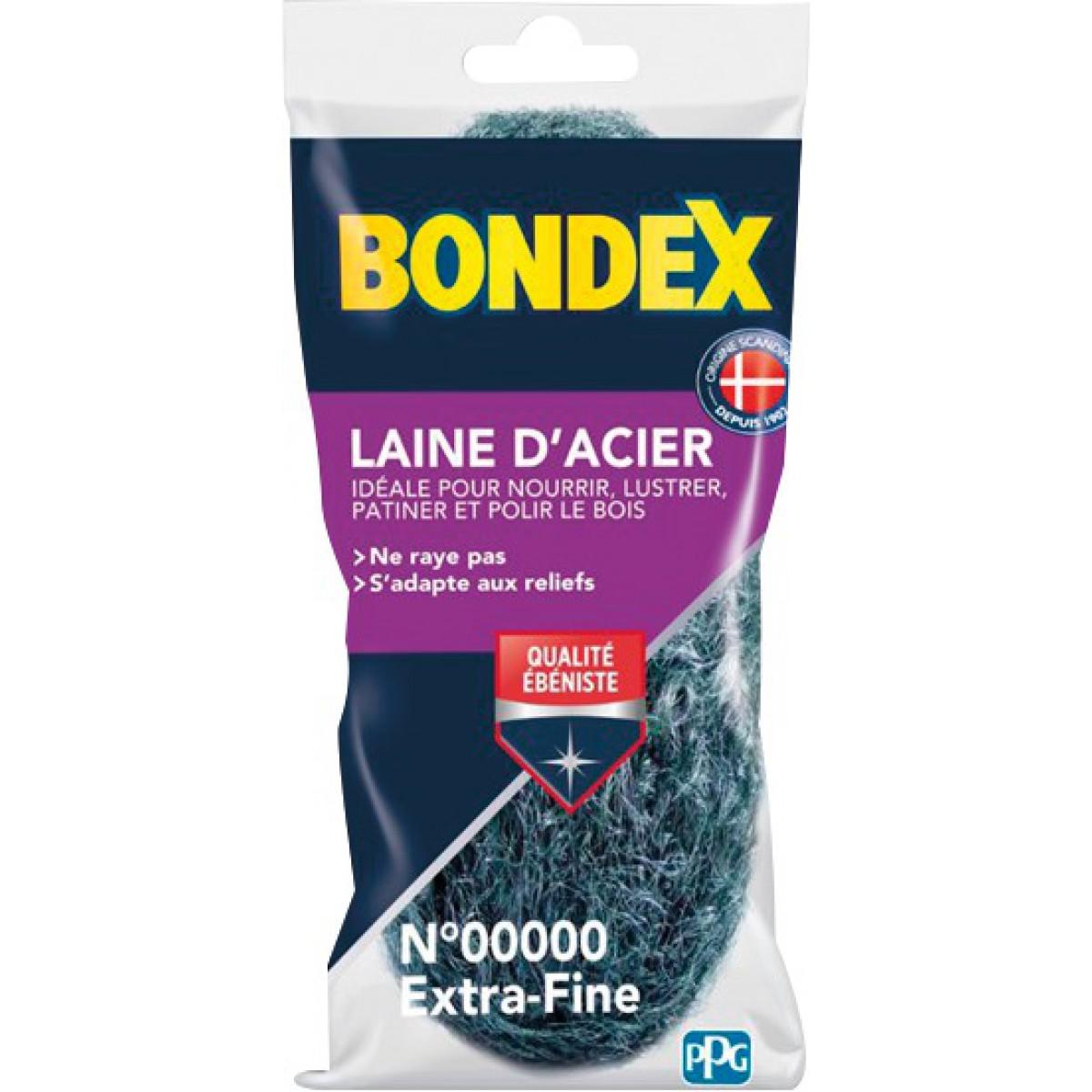 Laine d'acier Bondex