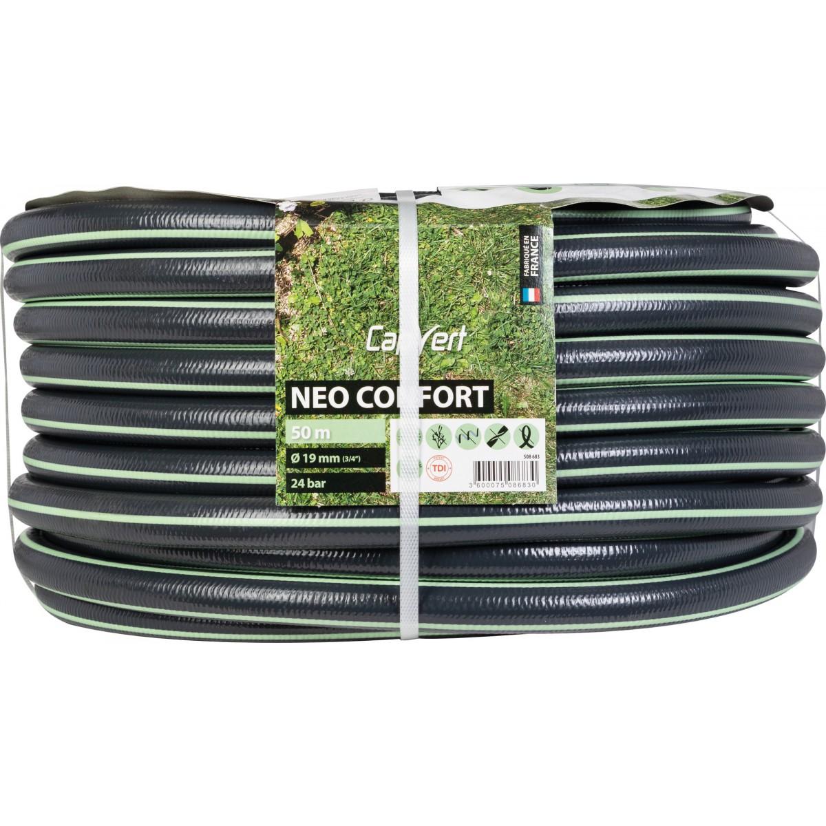 Tuyau d'arrosage Néo Confort Cap Vert - Diamètre 19 mm - Longueur 50 m