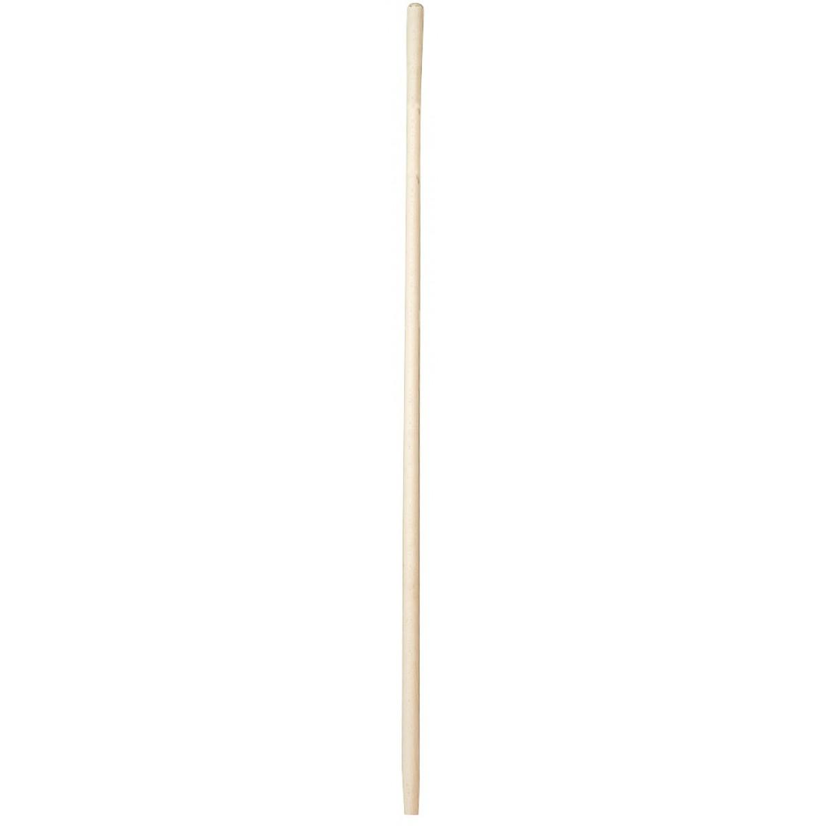 Manche bois Cap Vert - Fourche à foin percé - Diamètre 30 mm - Longueur 1,65 m