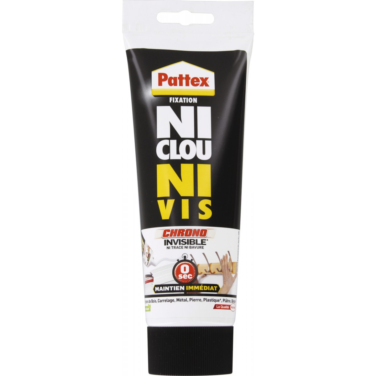 Ni clou ni vis chrono invisible Pattex - Tube 200 g