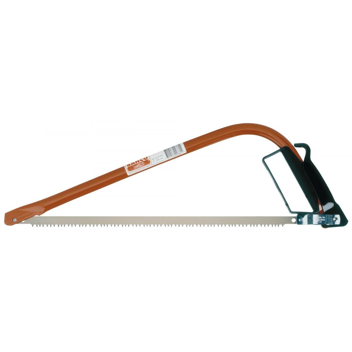 Scie à bûches ergonomique tout usage Bahco - Longueur 53 cm