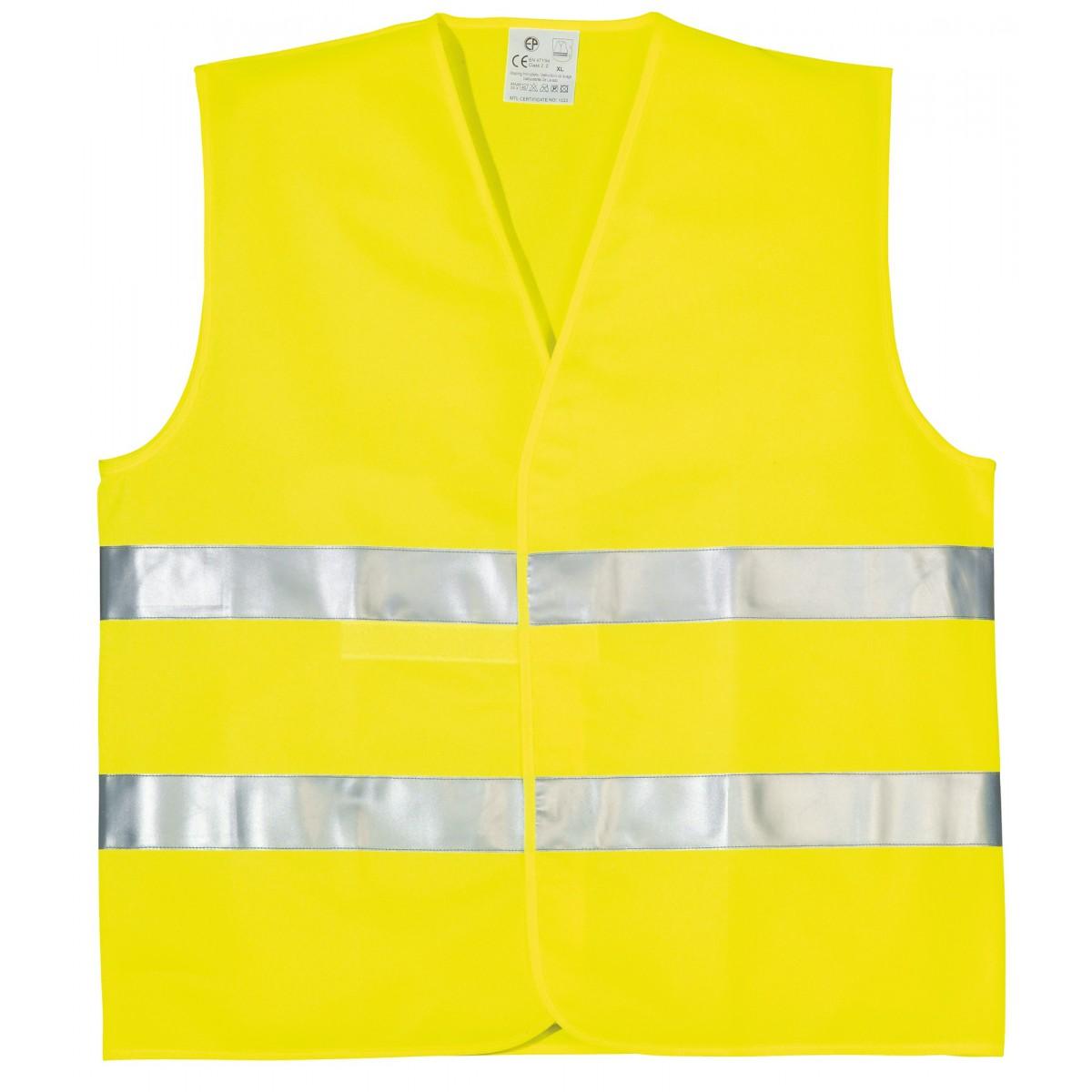 Gilet de sécurité double ceinture éco - Taille XL