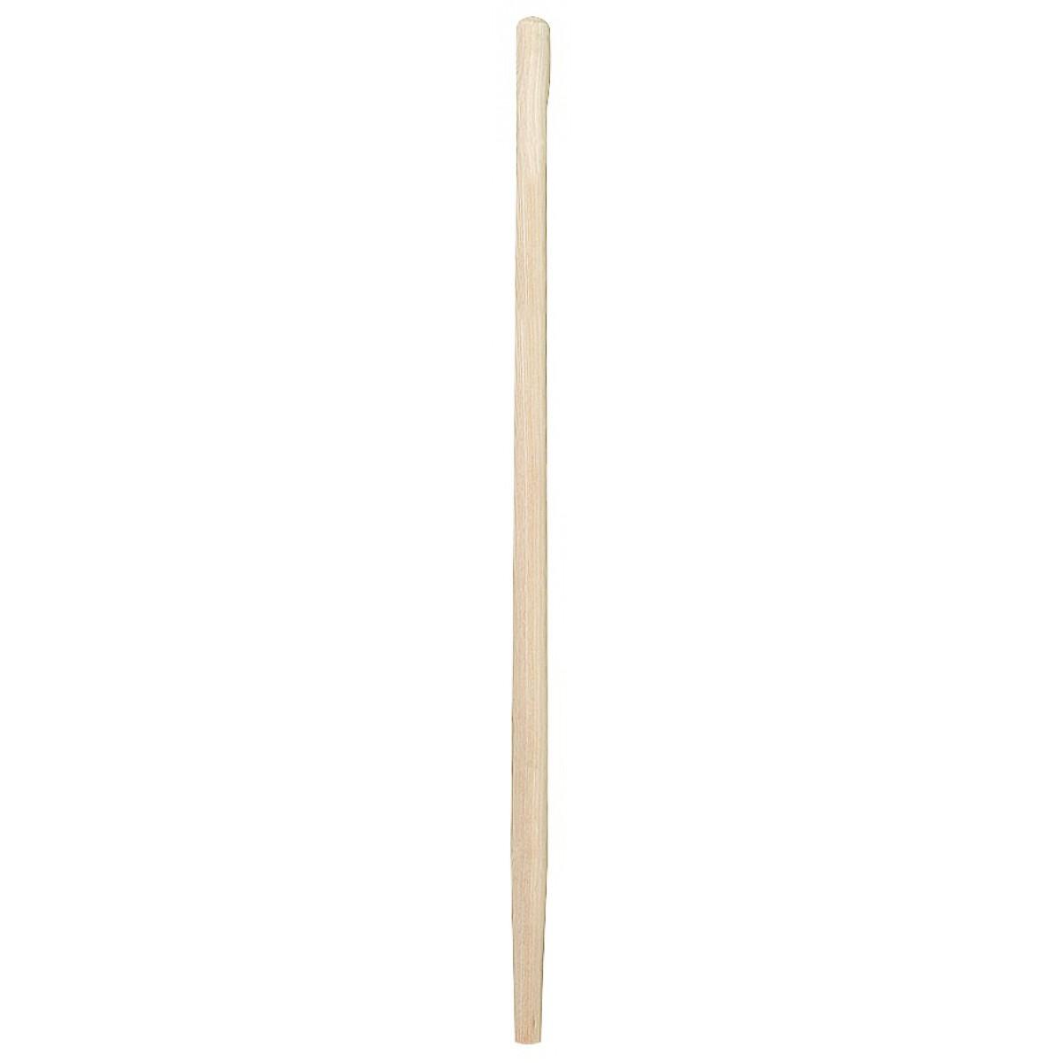 Manche bois Cap Vert - Fourche à bêcher percé - Diamètre 38 mm - Longueur 1 m