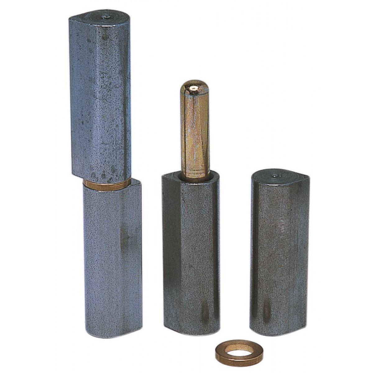 Paumelle à souder Monin - Diamètre Broche 7 mm - Hauteur 80,6 mm