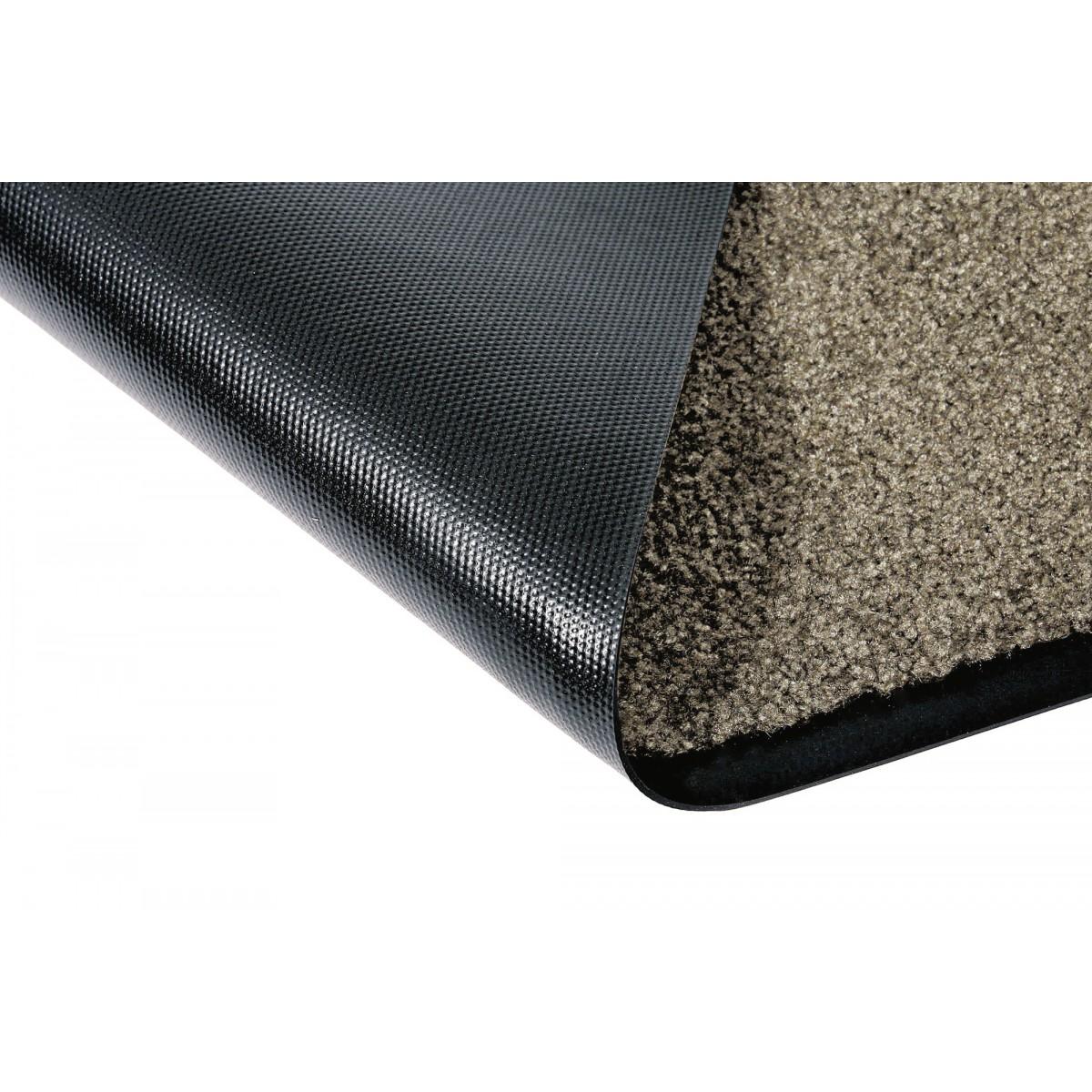 Tapis anti-poussières Mirande - Brun - Dimensions 40 x 60 cm