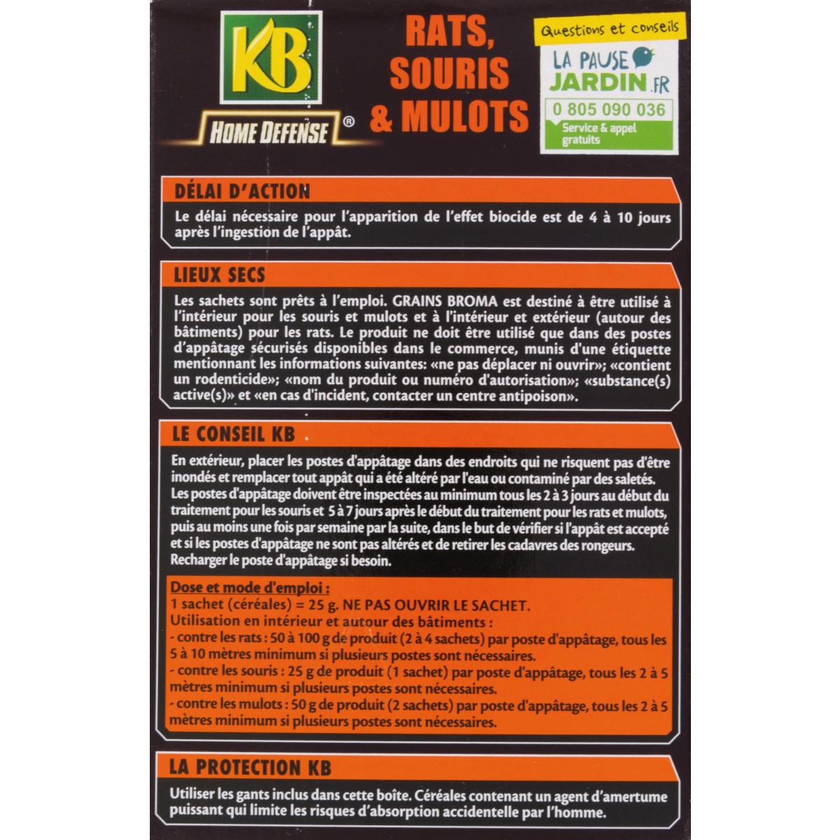 Homme Chat Rat Salle De Bain ~ raticide souricide c r ales pr t l emploi kb home d fense 5
