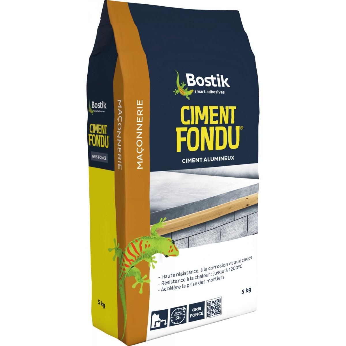 Ciment fondu Bostik - Sac 5 Kg